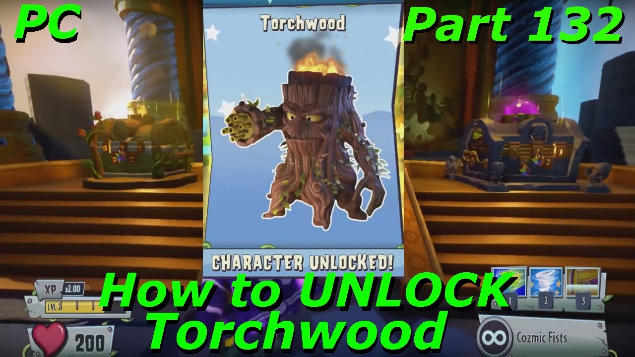 Plants vs Zombies Garden Warfare 2 - How to UNLOCK Torchwood - Part ...