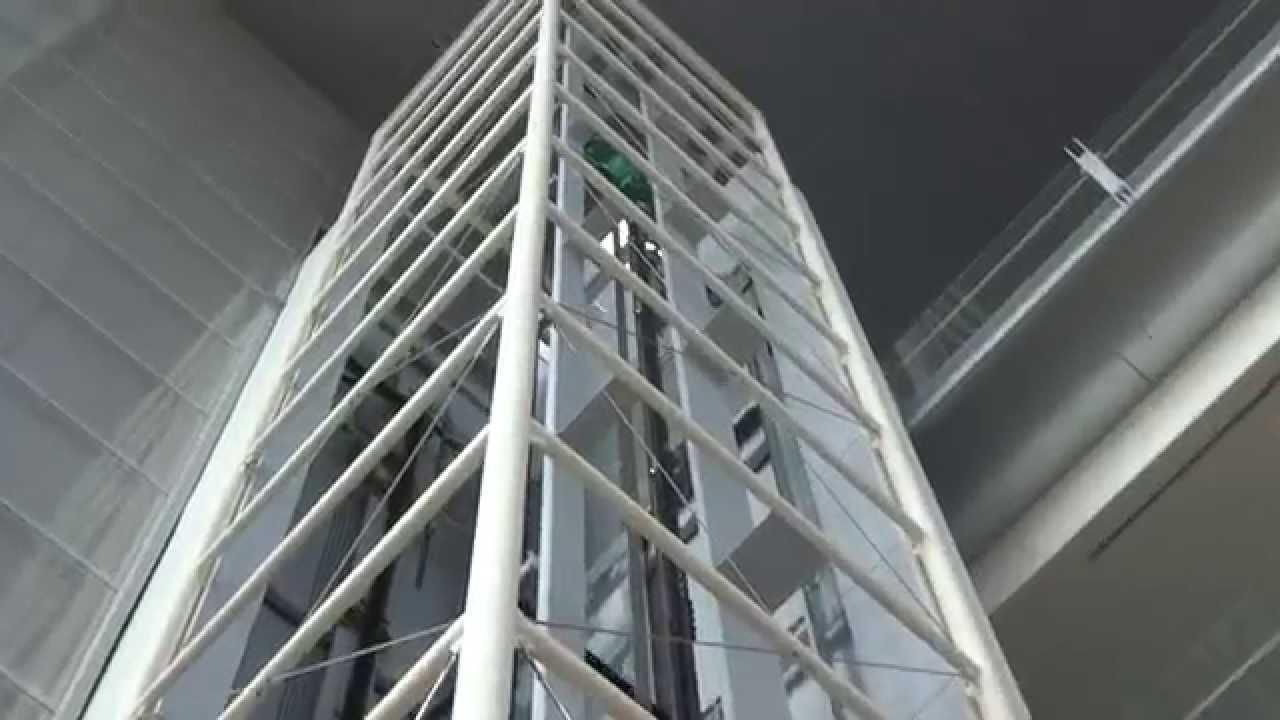KONE EcoSpace MRL Traction Scenic Elevator @ Engineering