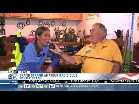 Amanda Live with Amateur Radio Operators - Good Morning Carolinas - WPDE ABC 15
