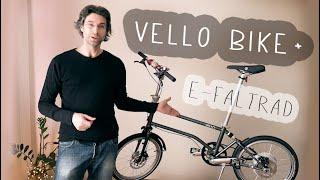 Mein VELLO BIKE+ und welche KONFIGURATION habe ich? #Faltrad #eBIKE