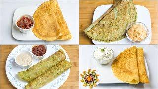 4 High Protein Breakfast Recipes l Super Healthy Protein Rich Breakfasts