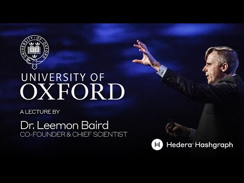 Blockchain & DLT Security & Attacks at Oxford University with Dr. Leemon Baird