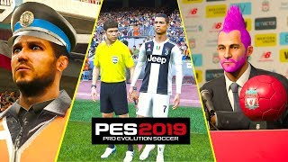 PES 2019 | CRAZY Realism and Details #3 | Fujimarupes