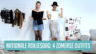 Nationale Rokjesdag: 4 zomerse outfits