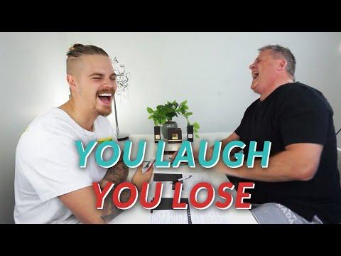 You Laugh, You lose | VS ANGRYDAD (MY DAD)