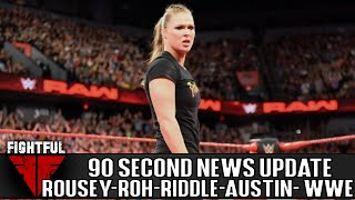90 Second Wrestling News Update: Final Battle, New WWE Hire, ROH Contracts, Heyman-Rousey, More!
