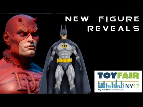 New York Toy Fair 2017 NEW FIGURE REVEALS | Domestics