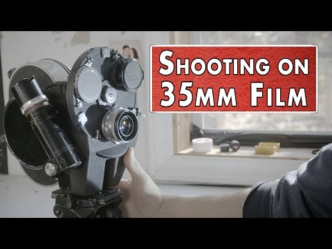 Shooting on a 35MM movie camera | Shanks FX | PBS Digital Studios
