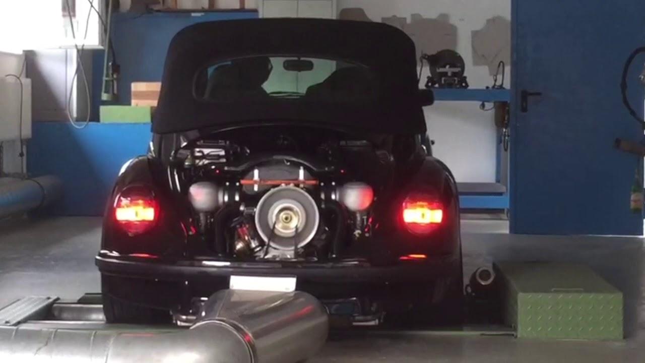 vw k fer 1303 cabrio mit typ 4 motor auf dem. Black Bedroom Furniture Sets. Home Design Ideas