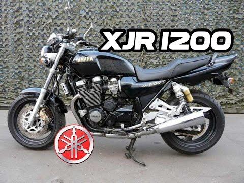 YAMAHA XJR 1200 - YouTube