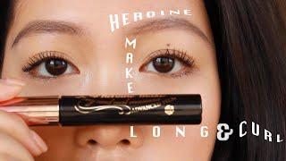 AWARD WINNING? Heroine Make Long & Curl Advanced Film Mascara Review