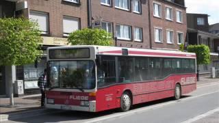 [Sound] Bus Mercedes O 405 N2 (WES-F 120) der Fa Fliege Ohlenforst Verkehrsges. mbH, Kamp-Lintfort