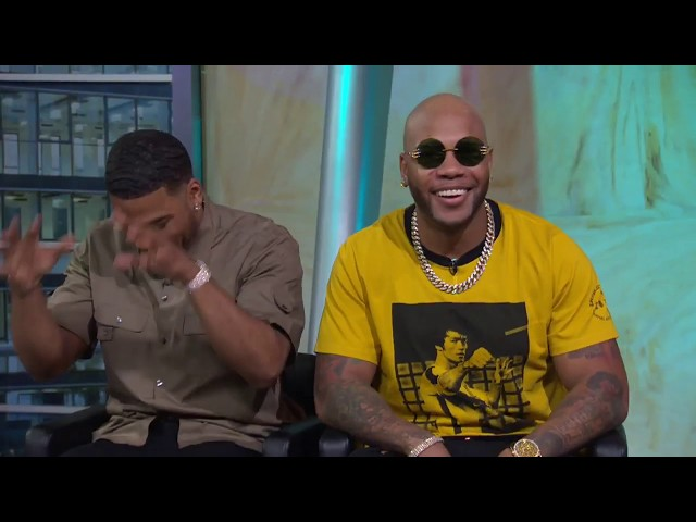 Flo Rida & Nelly talk about their joint North America tour on GDLA
