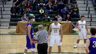 Forest Hills Varsity Boys' Basketball vs Bishop Guilfoyle (1/20/17)