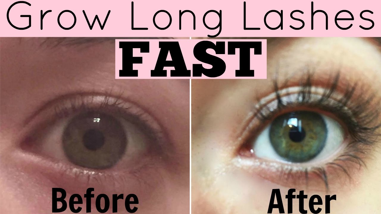 How To Grow Eyelashes Fast Diy Natural Eyelash Growth Serum Youtube