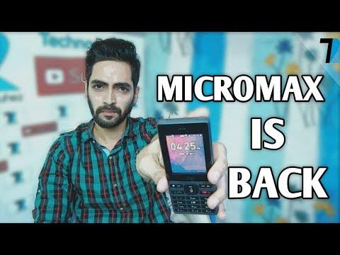 Micromax Bharat 1 4G Volte - [Jiophone Killer??]