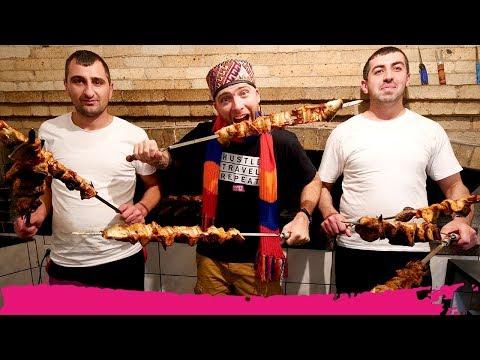 Armenian Wild CRAYFISH KEBABS + Medieval MONASTERY Tour | Lake Sevan, Armenia