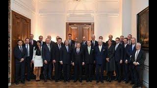 Президент Шавкат Мирзиёев встретился с представителями деловых кругов Германии (22 января 2019г.)