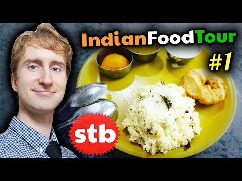 MIND BLOWING South INDIAN FOOD Travel Tour #1 in Madurai, India // Pongal, Vada, & Sambar Idli