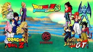 DRAGON BALL Z VS DRAGON BALL GT - Dragon Ball Z Budokai Tenkaichi 3 Version Latino