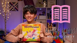 The Hiccupatomus   Maggie Reads!   Children's Books Read Aloud!