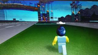 There's a ghost when i was playing roblox disneyland!!!!