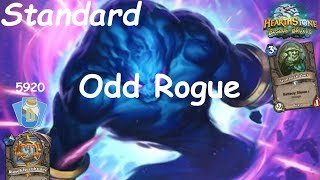 Hearthstone: Odd Rogue Post-Nerf #9: Witchwood (Bosque das Bruxas) - Standard Constructed