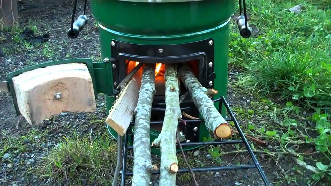 Initial Thoughts Stovetec 2 Door Rocket Survival Stove
