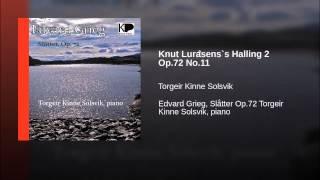 Knut Luråsens`s Halling 2 Op.72 No.11