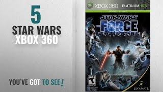 Top 10 Star Wars Xbox 360 [2018]: Star Wars the Force Unleashed - Xbox 360
