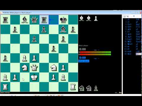 chess gameplay: Human vs Android Chess in LG smartphone