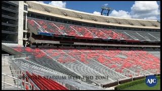 Sanford Stadium West End Zone View thumbnail