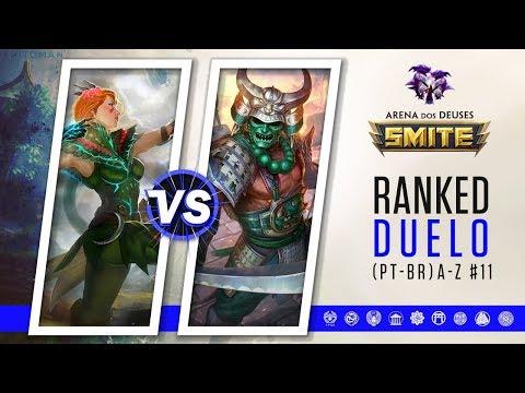 Artemis vs Hachiman | A VINGANÇA DO ARES - Ranked Duelo A-Z #11 | Smite Season 5 (PT-BR)