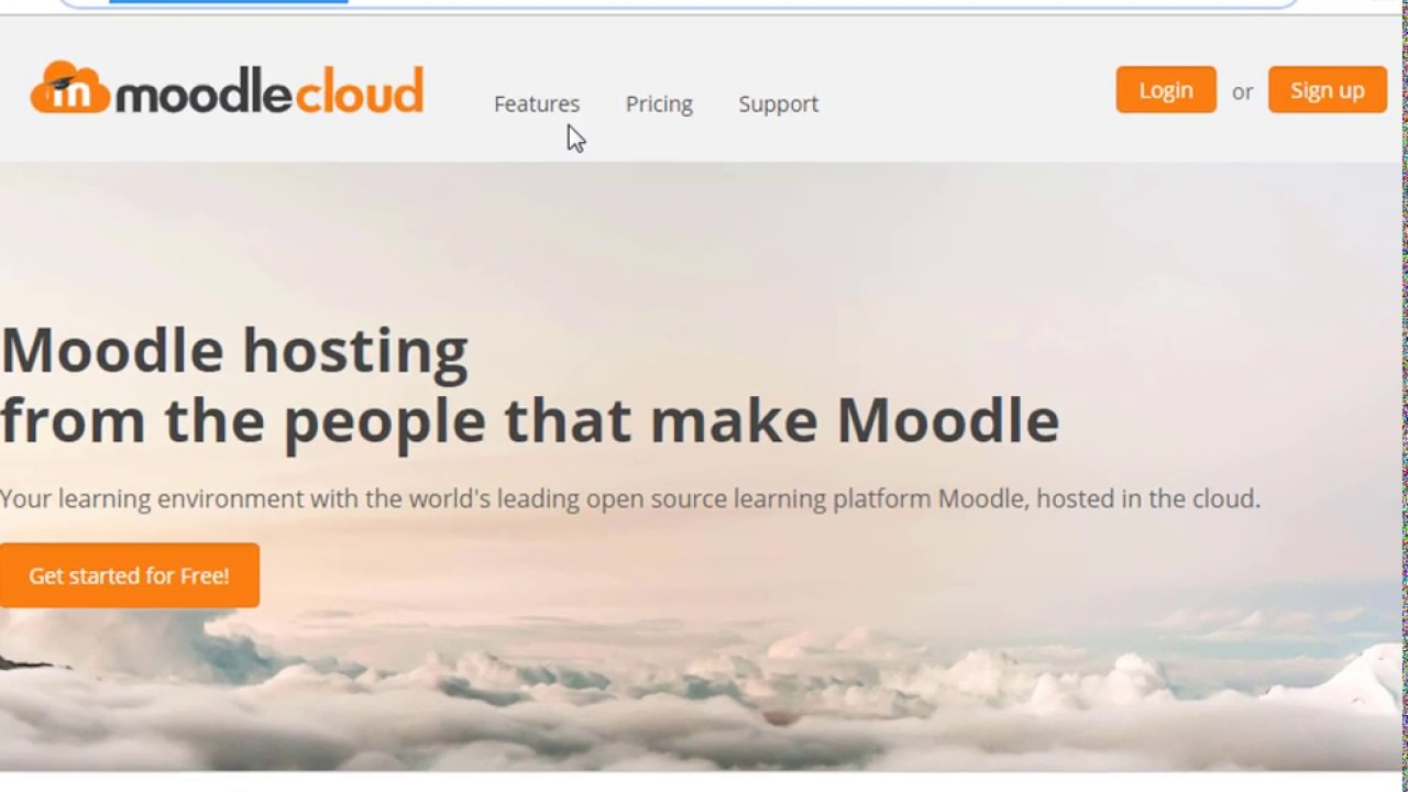 moodleCloud: Creating a course and importing SCORM packages