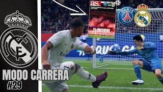 FIFA 19   MODO CARRERA - REAL MADRID   ¡EL INCENDIO de PARÍS!🔥#29