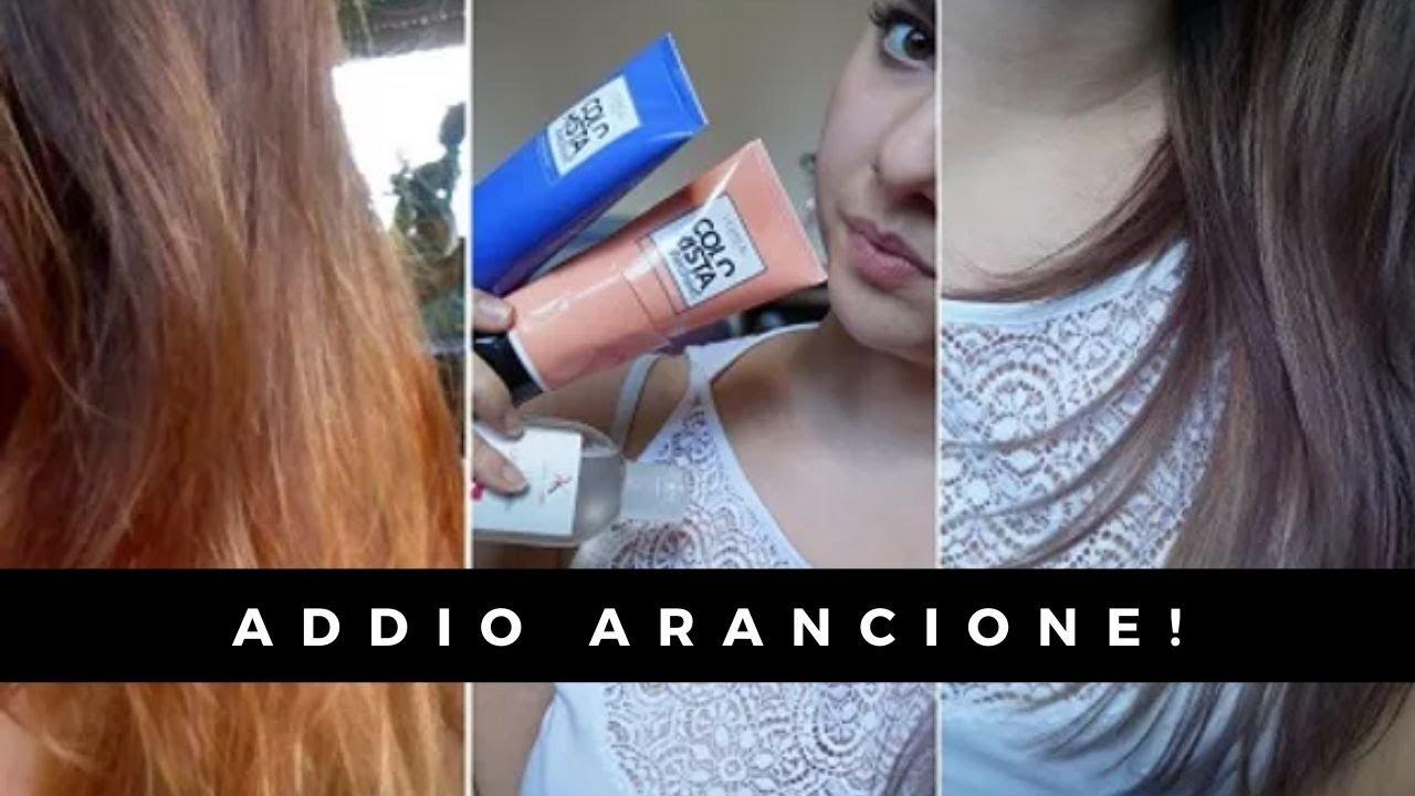 Capelli Arancioni Dopo La Decolorazione No Grazie Youtube