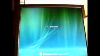 Windows Vista Home Premium Boot-Up