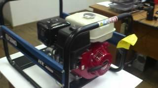 видео SDMO Diesel 6000E > Портативные дизельные генераторы SDMO