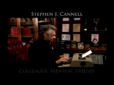 Stephen J. Cannell memorial on Castle  10112010