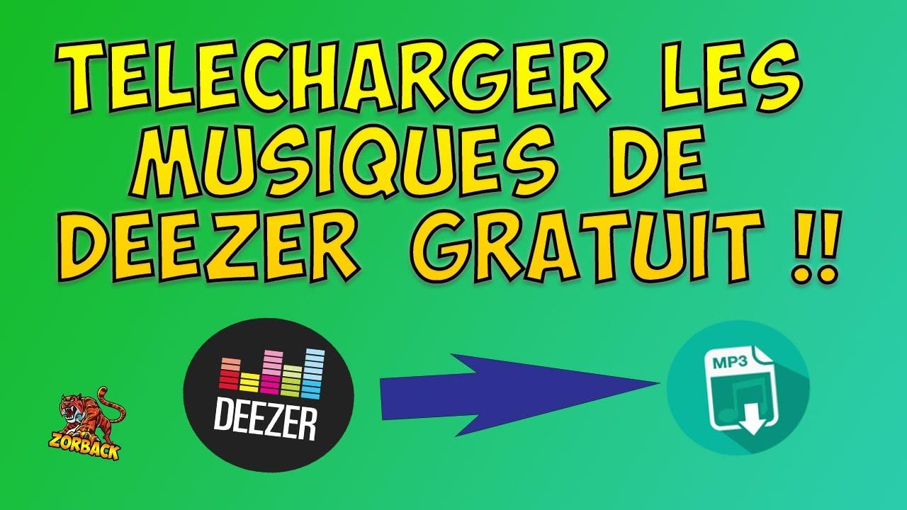 telecharger en mp3 deezer