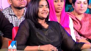 Manju Warrier in Manorama News NewsMaker-2014