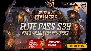 এলিট পাস: Wildland Walkers | সিজন-৩৯ | Garena Free Fire