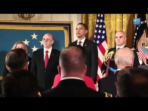 Medal of Honor (2) for Staff Sergeant Robert J. Miller - Pr. Obama