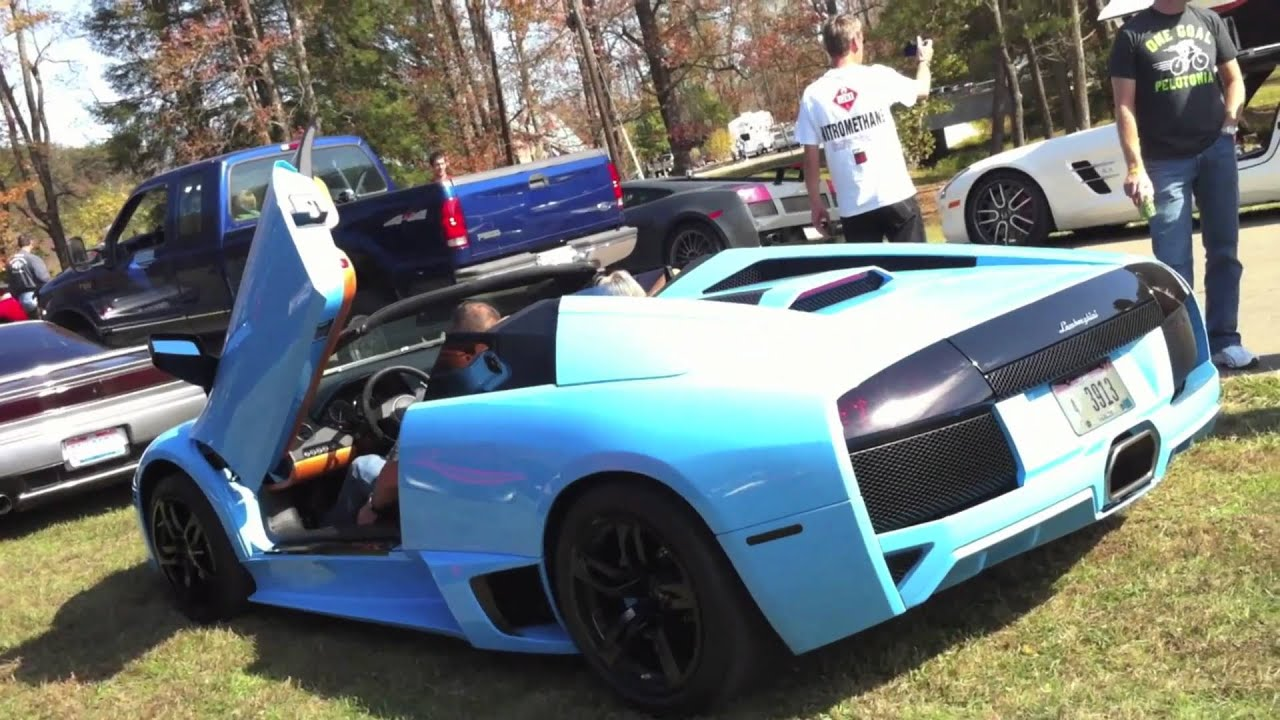 Young Jeezy S Blu Cepheus 1 Of 1 Lamborghini Murcielago Spyder