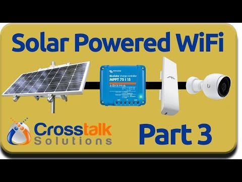 Solar Powered WiFi Part 3