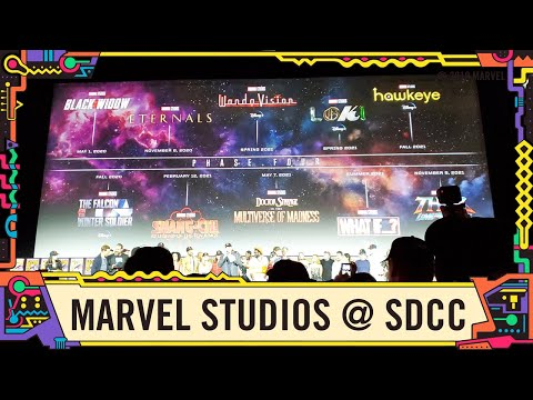 Marvel Studios Announcements From Hall H At SDCC 2019!