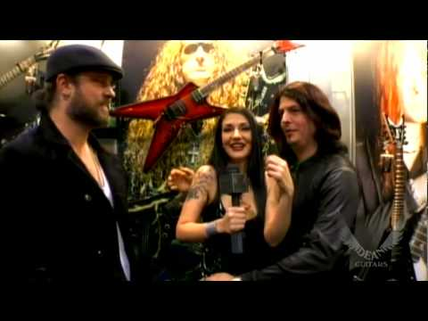 Collective Soul interview at Dean Guitars NAMM 2010