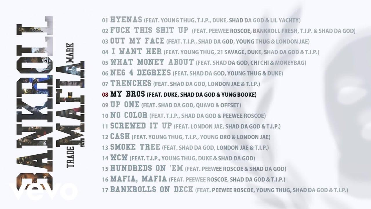 Download Bankroll Mafia - My Bros (Audio)