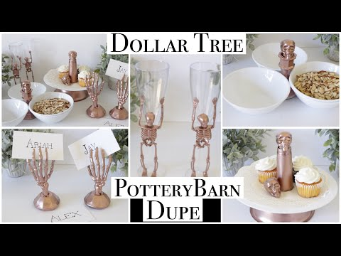Dollar Tree DIY Pottery Barn Halloween Dupes