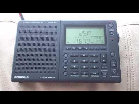 Radio Havana Cuba -  Grundig G3 Globe Traveler - 11670 KHZ - 02:00 UTC